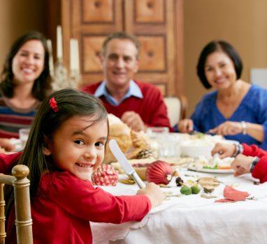 Les limites et les fêtes en famille